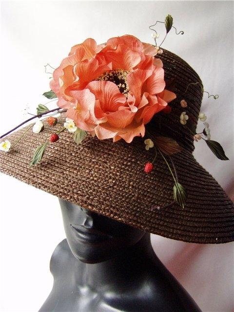 Цветок на шляпу